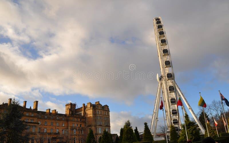 Big ferris-wheel York England stock image