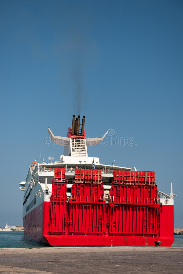 Download Big Ferry Boat Stock Photo - Image: 11711920