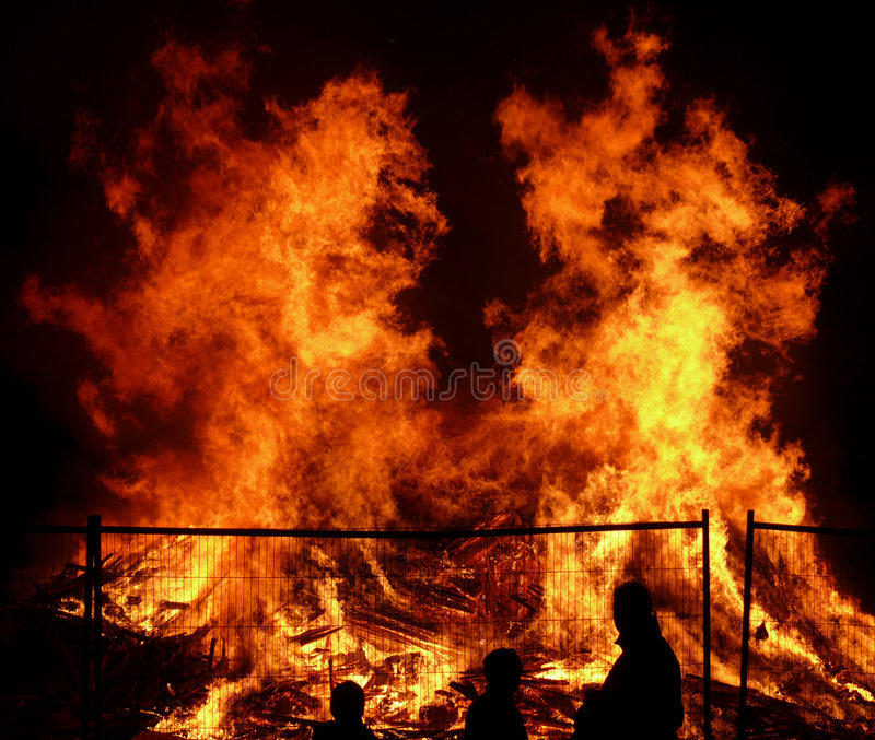 Big fire 2 royalty free stock images