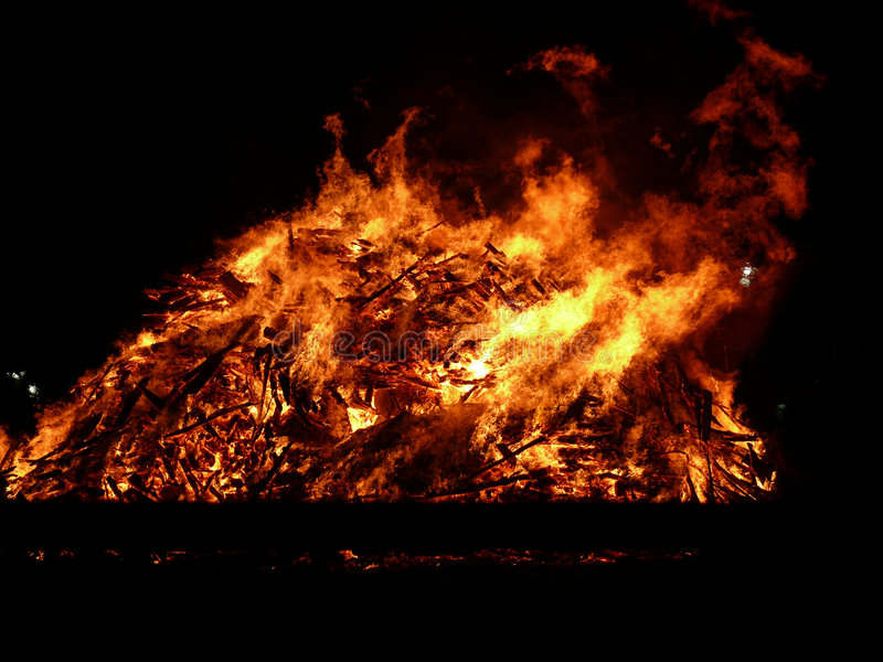 Big fire royalty free stock image