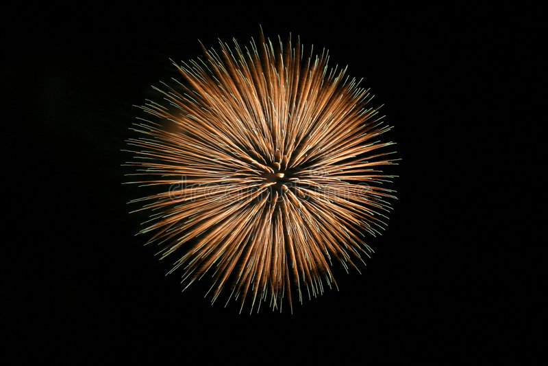 Big Firework royalty free stock image