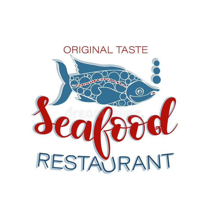 Big Fish Business Logo Stock Vector. Illustration Of