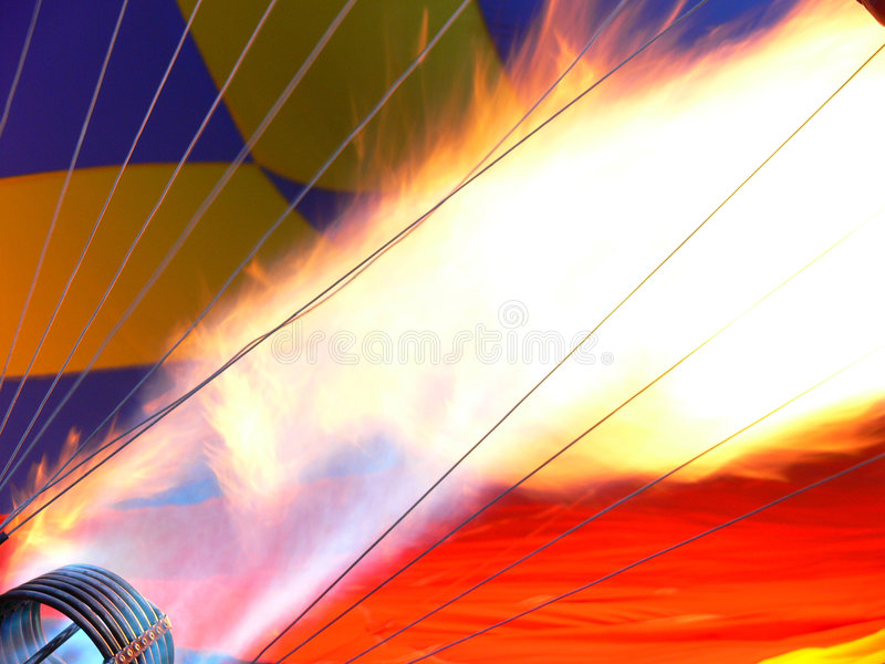 Big flame royalty free stock photography