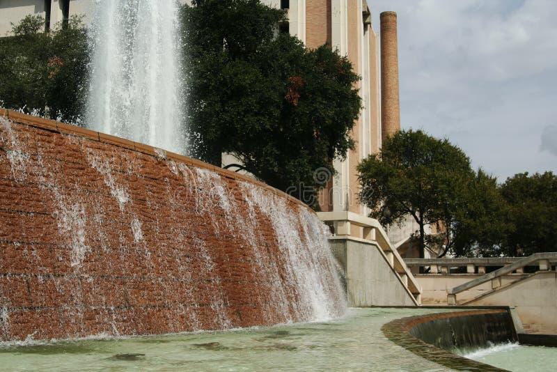 Big Fountain Water Splash Royalty Free Stock Photography