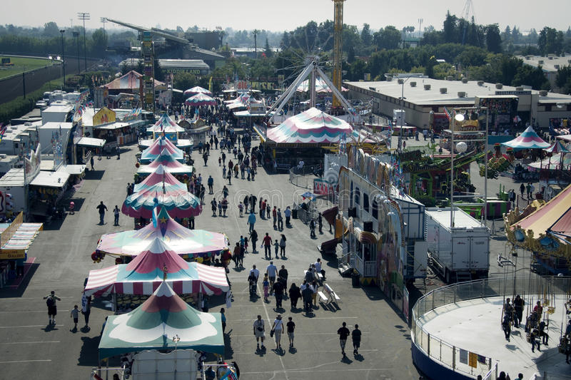 Download Big Fresno Fair (1 Of 2) - Editorial Editorial Stock Image - Image: 22586374