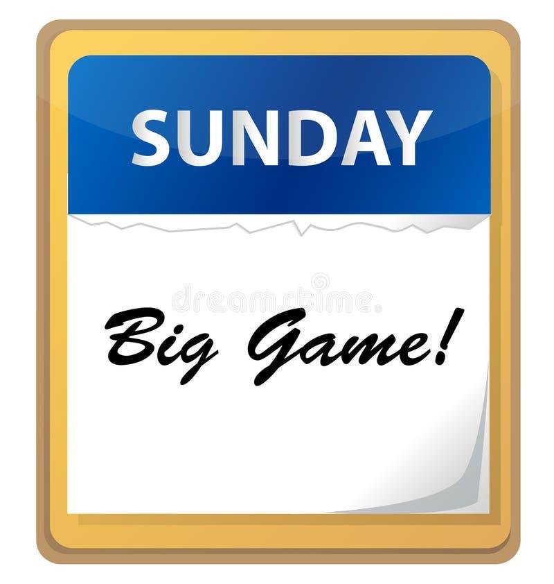 Big Game Reminder Stock Images