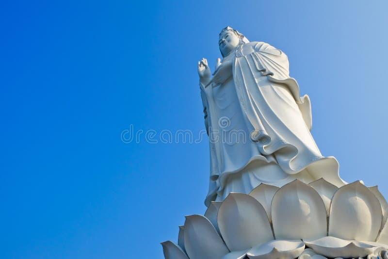 The Big Goddess Guan Yin Statue stock image