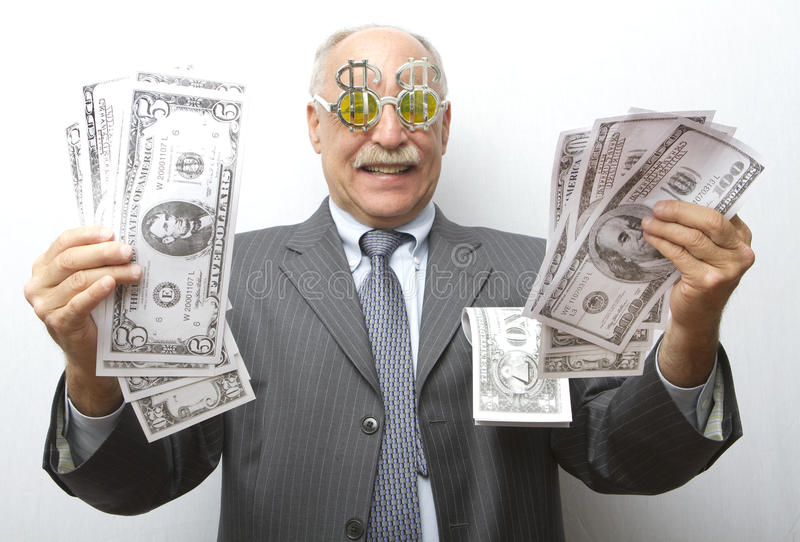 Download Big Greed stock photo. Image of bacon, cash, paper, greed - 26642382