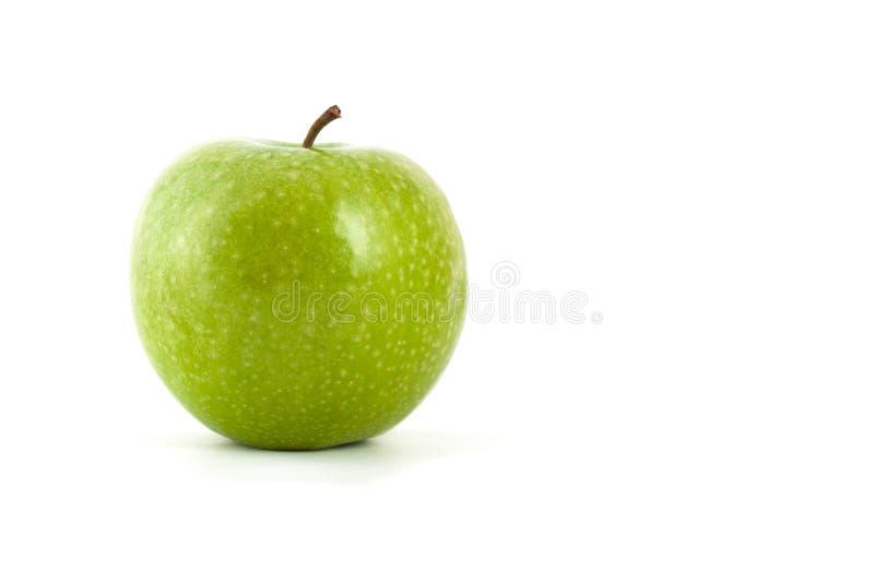 Big green Apple. royalty free stock photography