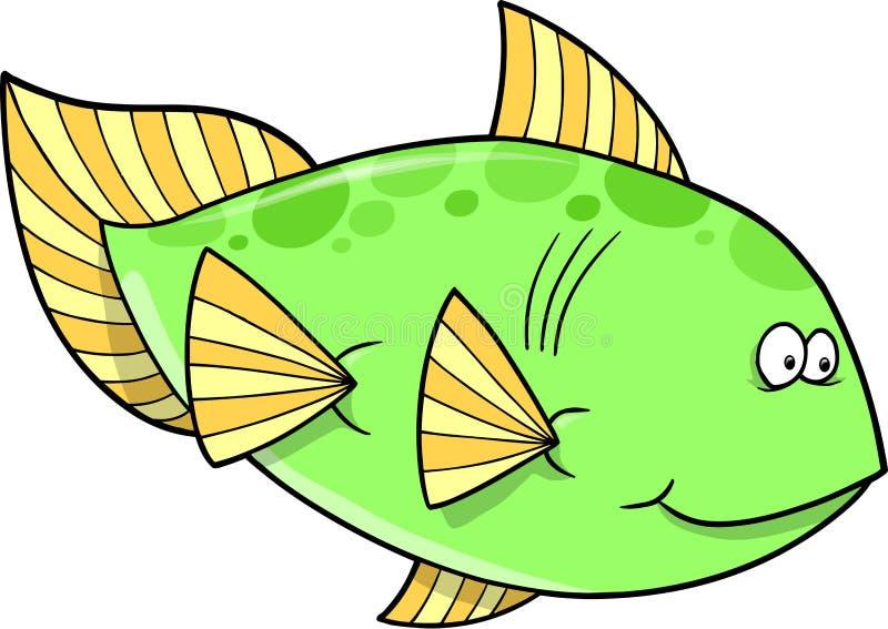 Download Big Green Fish Vector Royalty Free Stock Photos - Image: 12851428