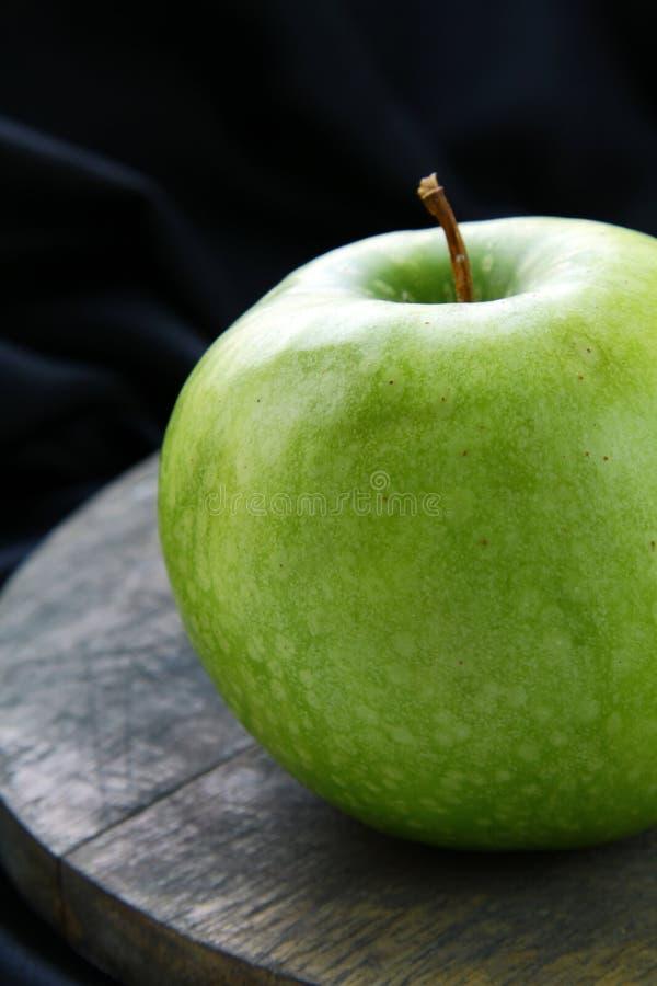 Big Green Ripe Apple Stock Image