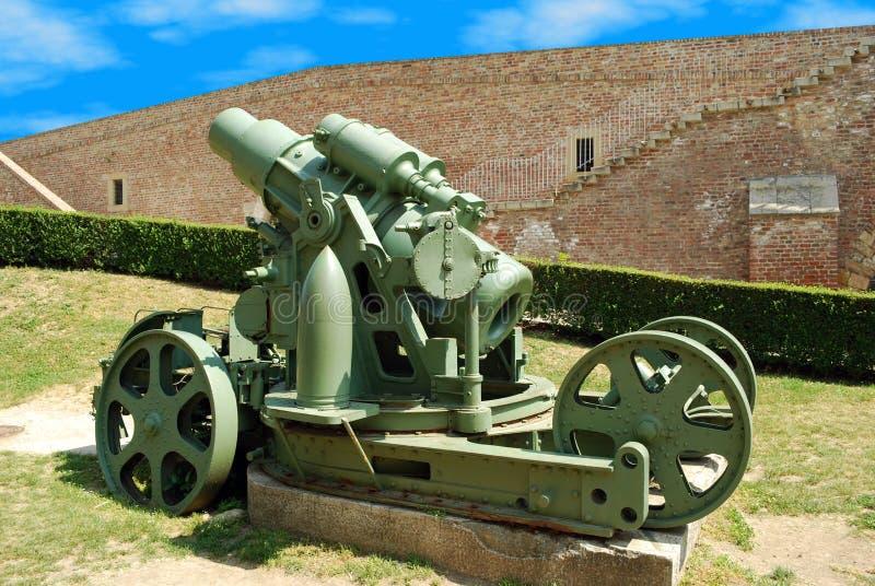 Download Big gun stock image. Image of weapon, grenade, steel - 19010363