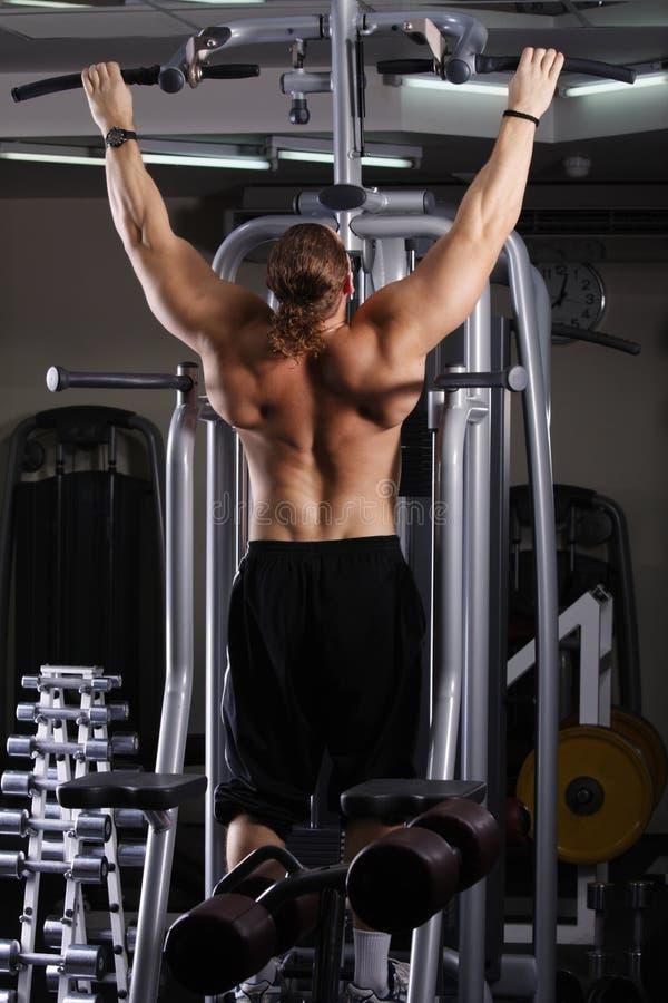 Download Big Guy Preparing For Training Stock Image - Image: 9474185