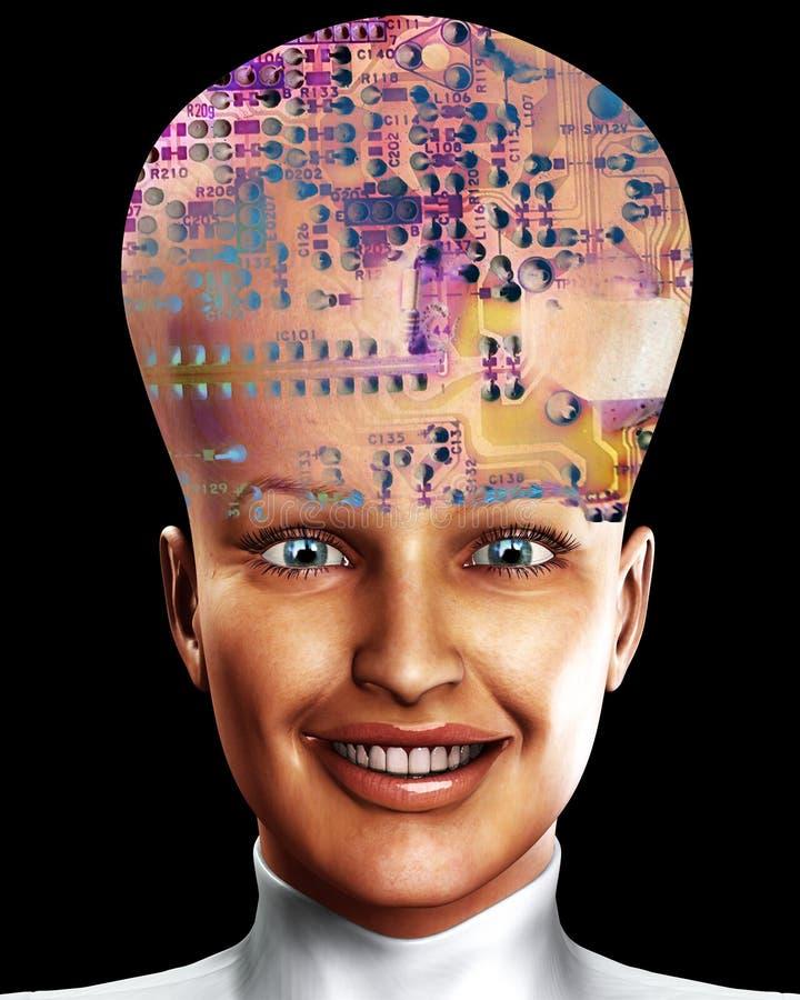 Big Head 7 Royalty Free Stock Photo