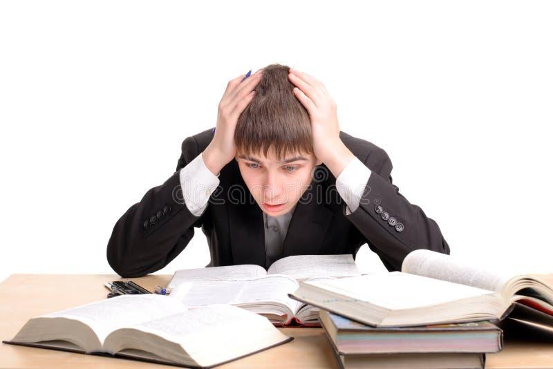 Download Big homework stock image. Image of hands, male, adolescence - 8560543