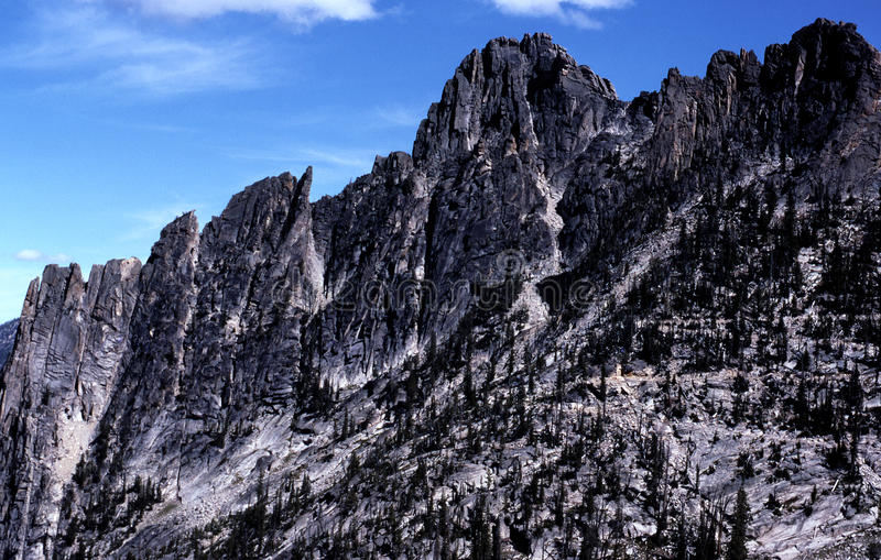 Big Horn Crags - Idaho. The Big Horn Crags are located in the central Idaho wilderness and form part of the Idaho Batholith.n stock photos