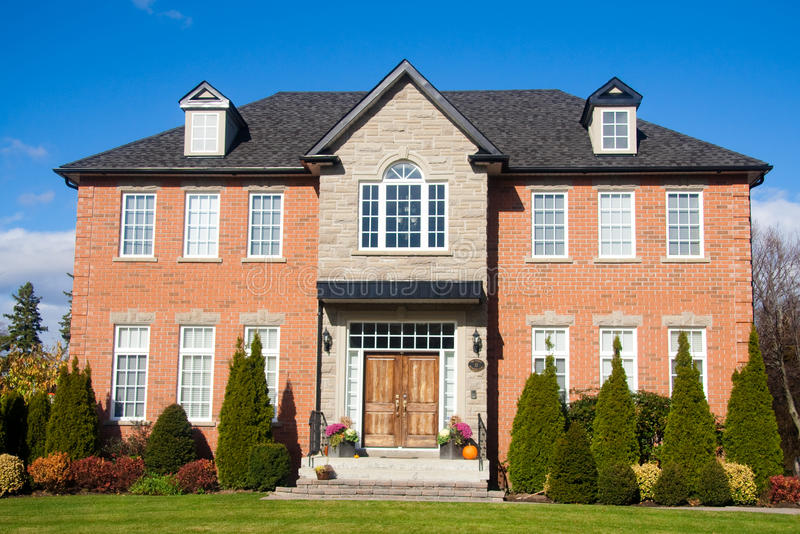 Download Big House stock photo. Image of blue, mansion, market - 11682446