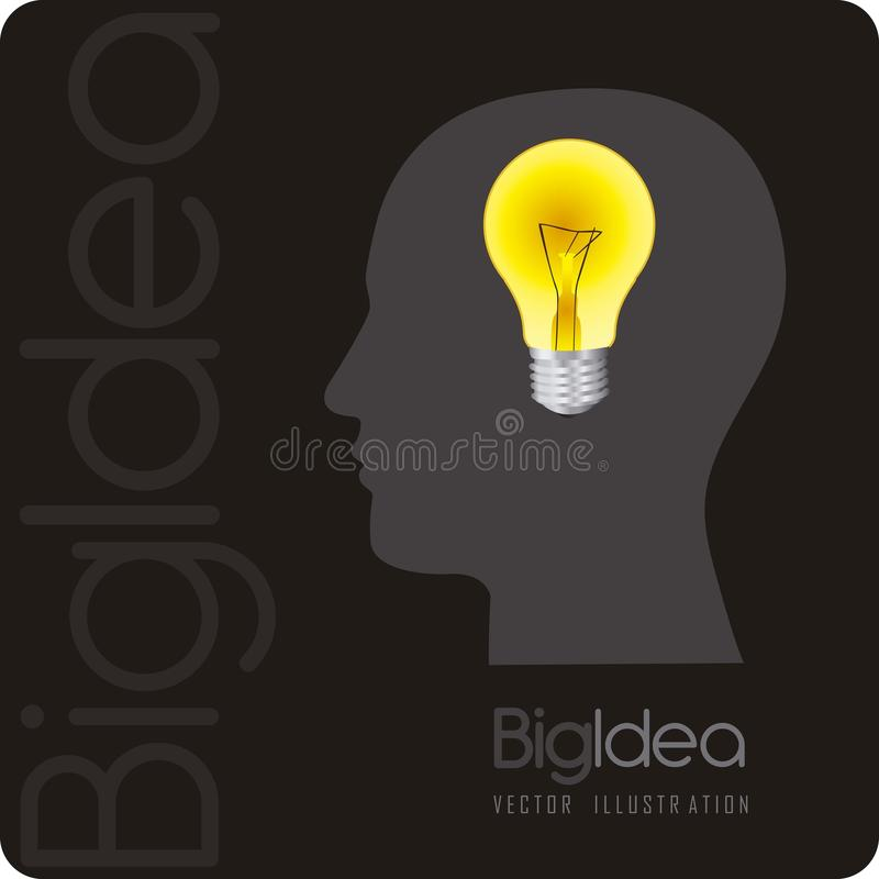 Download Big idea stock vector. Illustration of electric, graphic - 25738282