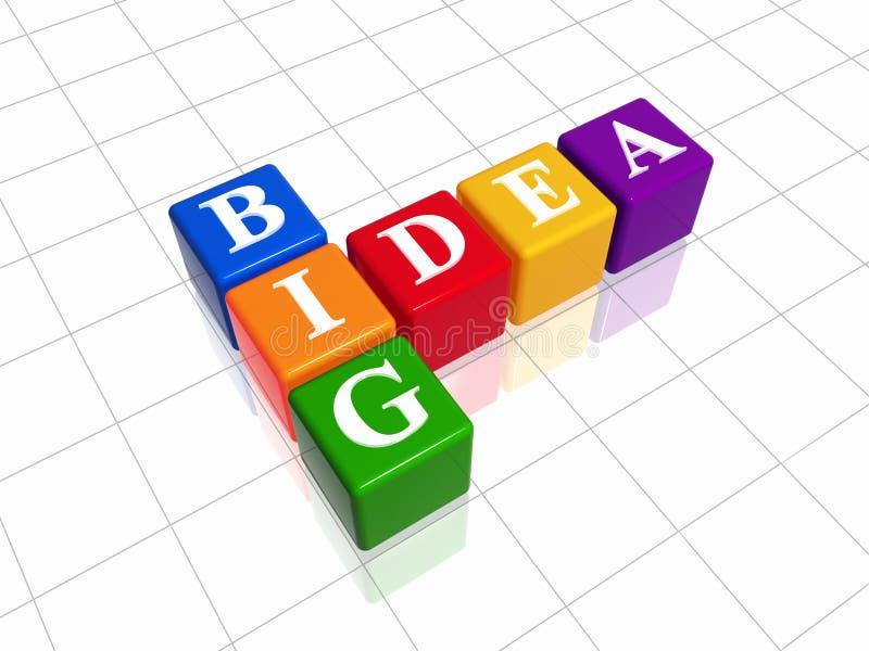 Download Big Idea - Colour Crossword Stock Illustration - Image: 6684328