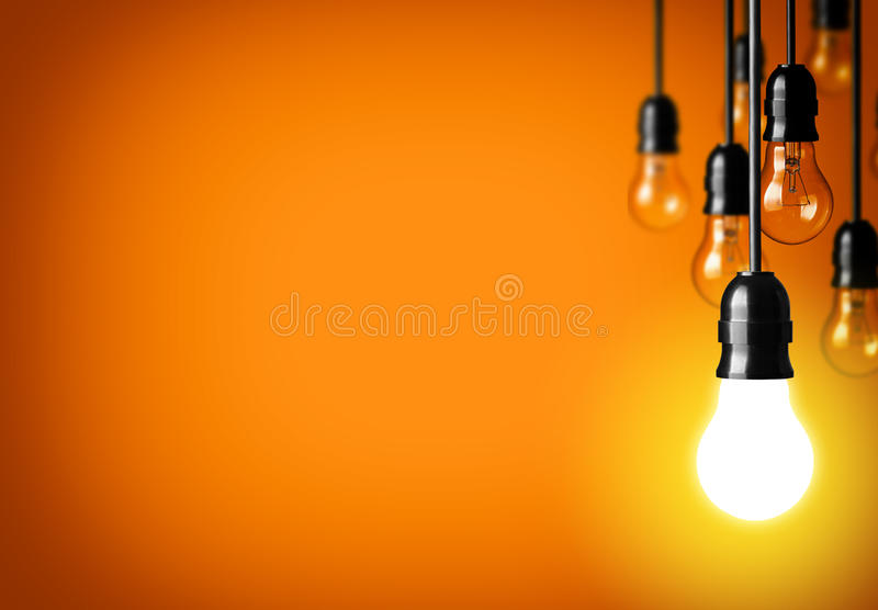 Download Big idea stock photo. Image of green, point, energy, illuminated - 33266608