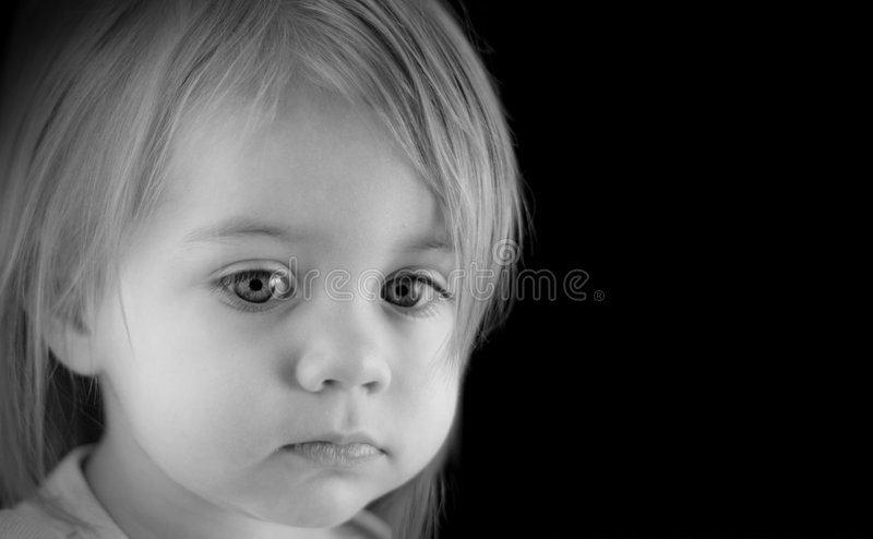 Download Big Innocent Eyes stock photo. Image of serious, care - 6461048