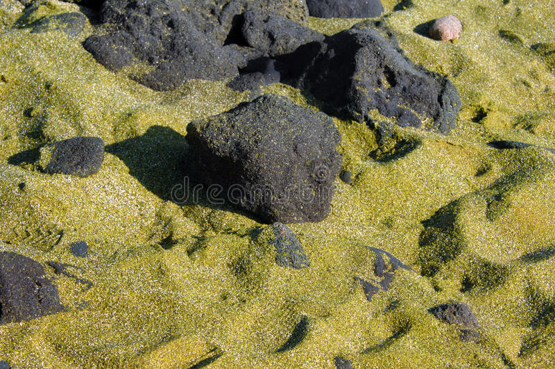 Download Big Island Green Sand stock photo. Image of glisten, beach - 24722840