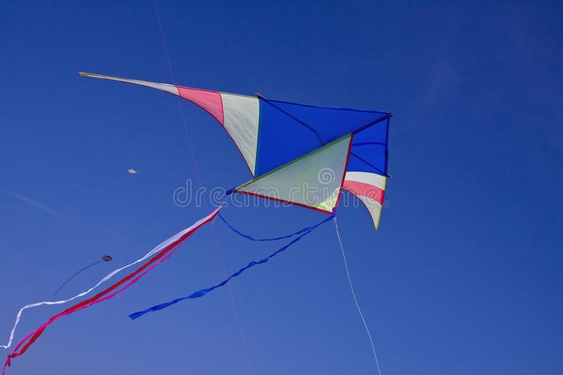 Download A big kite in the blue sky stock image. Image of funny - 19043877