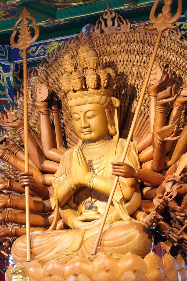 Download The Big Kuan Has Thousand Hands Stock Image - Image: 15102251