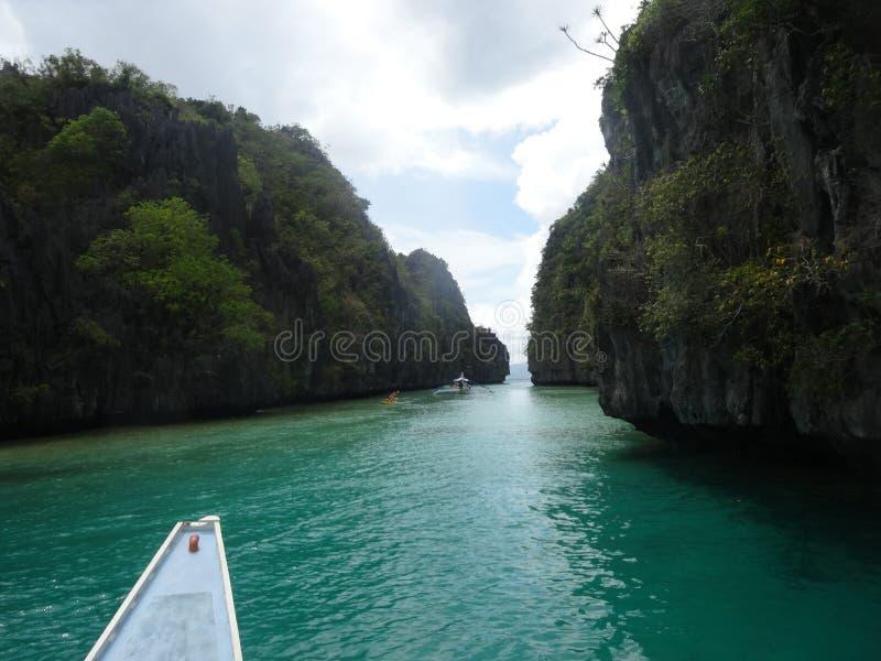 Big Lagoon stock image