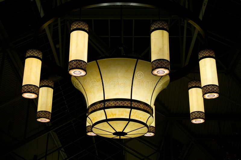 Big Lamp stock photography