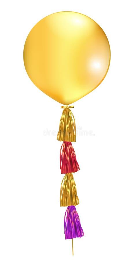 Big latex balloon stock photos