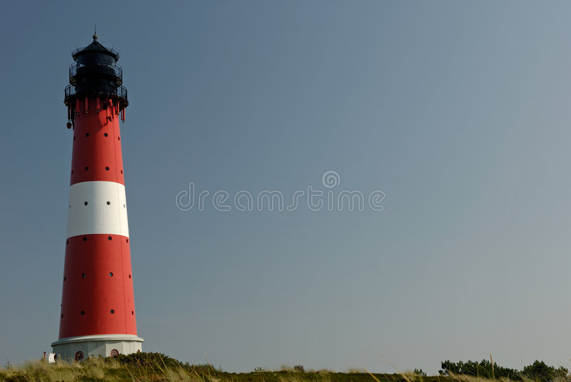 Download Big lighthouse stock image. Image of blue, europe, holstein - 1268775