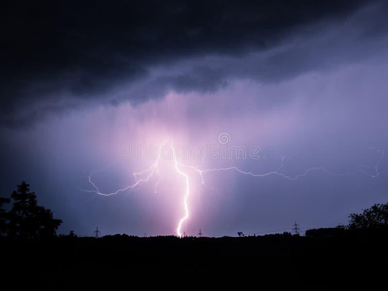 Big Lightning royalty free stock photos