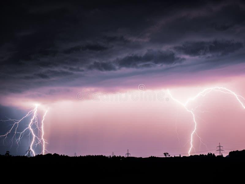 Big Lightning royalty free stock images