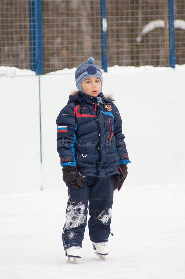 Big little skater stock images
