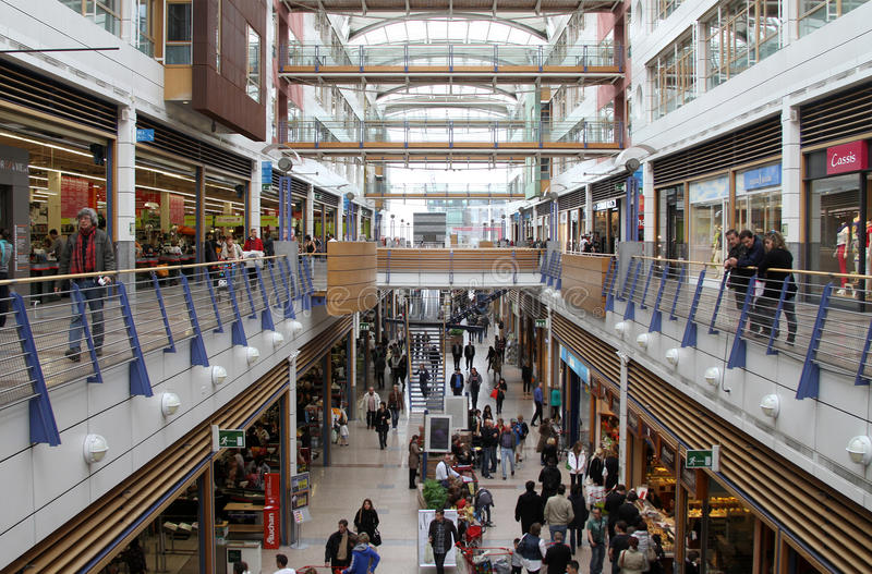 Big mall royalty free stock images
