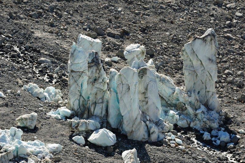 Download Big melting ice towers stock image. Image of melting - 26155433