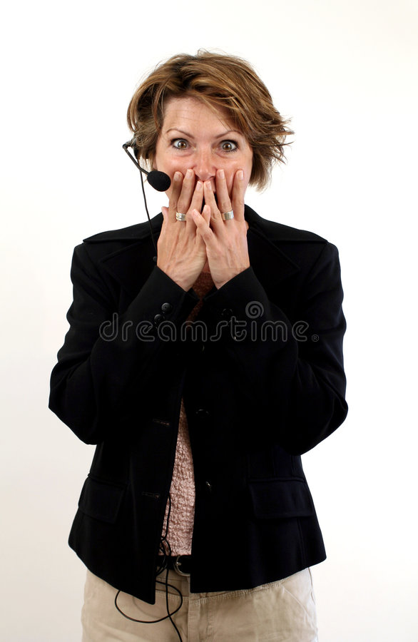 Download Big mistake stock photo. Image of female, hair, telephone - 196646