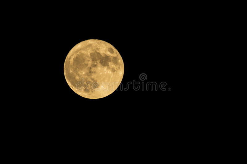 THE BIG MOON royalty free stock images