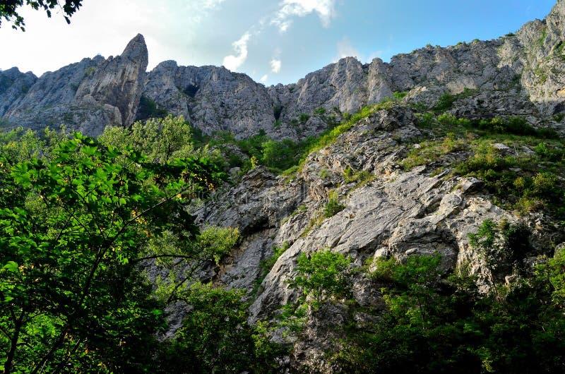 The big mountain of Turda royalty free stock image