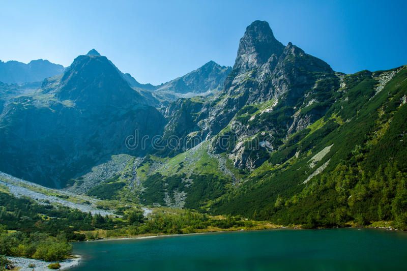 Big mountains royalty free stock images