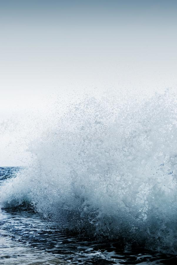 Big ocean wave stock photos