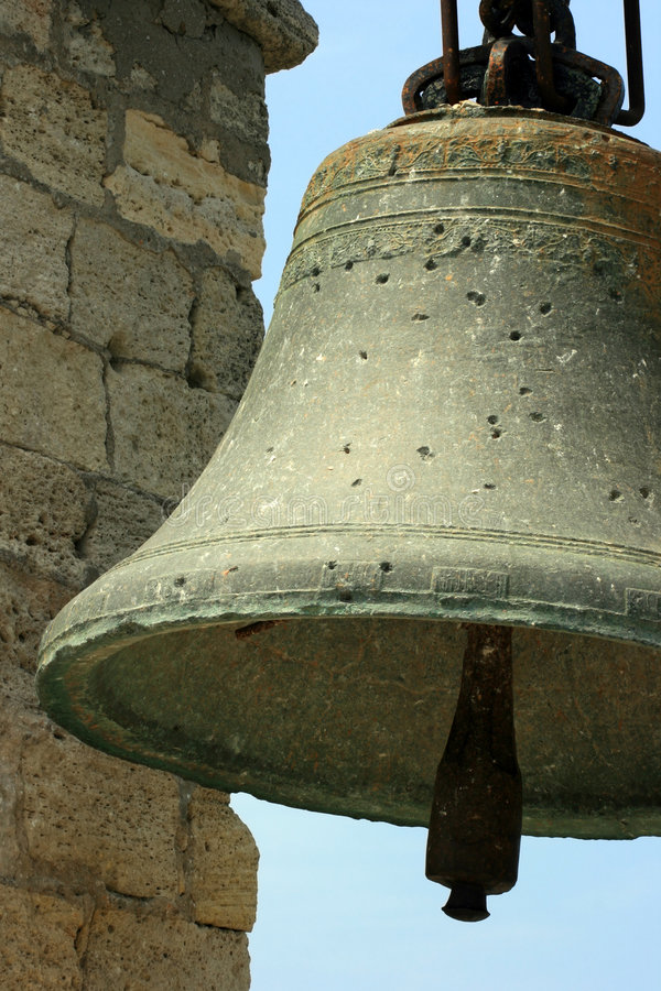Free Big Old Bell In Crimea Stock Photography - 2719292