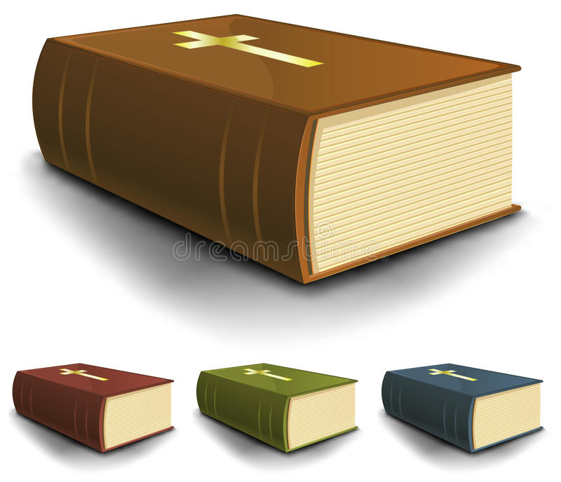 Download Big Old Holy Bible Books Set Royalty Free Stock Photo - Image: 25376045