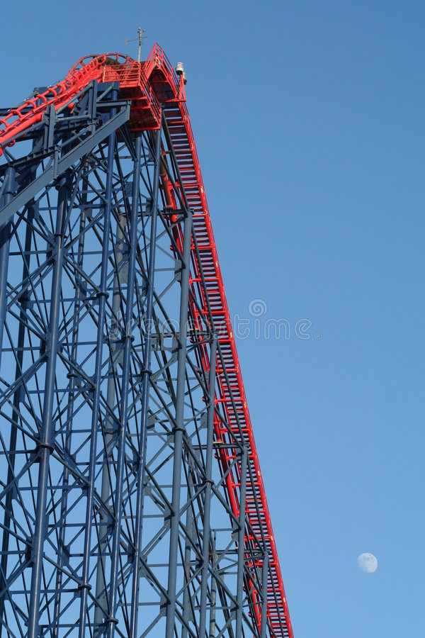 Download 'The Big One' Rollercoaster At Blackpool Pleasure Beach. Stock Photo - Image: 502432