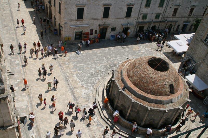 Download Big Onofrio's Fountain, Dubrovnik Editorial Stock Photo - Image: 20381508