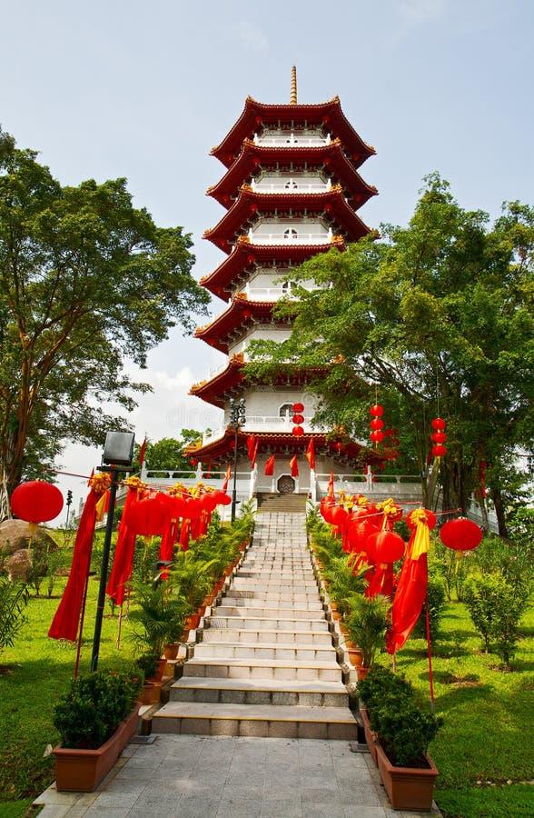 The Big Pagoda Royalty Free Stock Photography