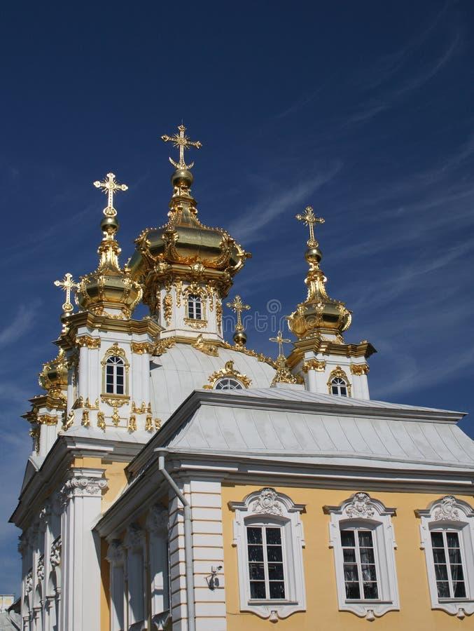 Download Big Palace in Petergof stock image. Image of mansion - 11861965