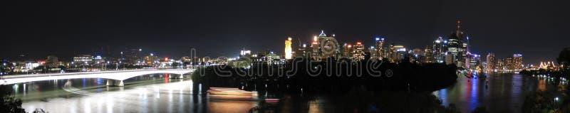 Big Panorama of Brisbane royalty free stock photos