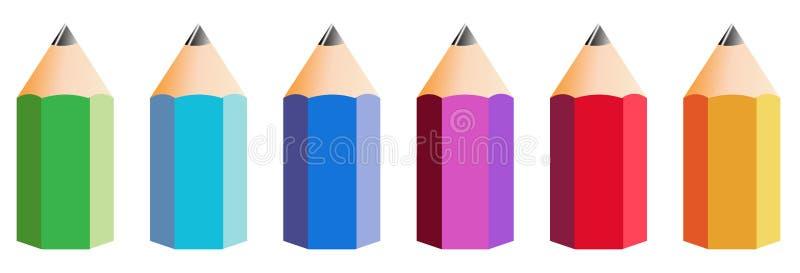 Big Pencil royalty free stock photo